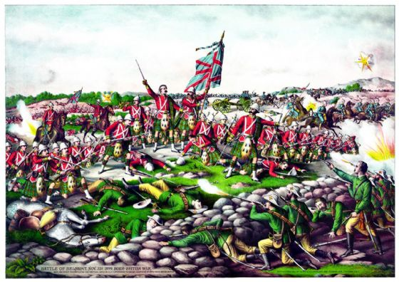 Kurz & Allison: Battle of Belmont (Boer-British War 1899). Fine Art Print/Poster (5267)